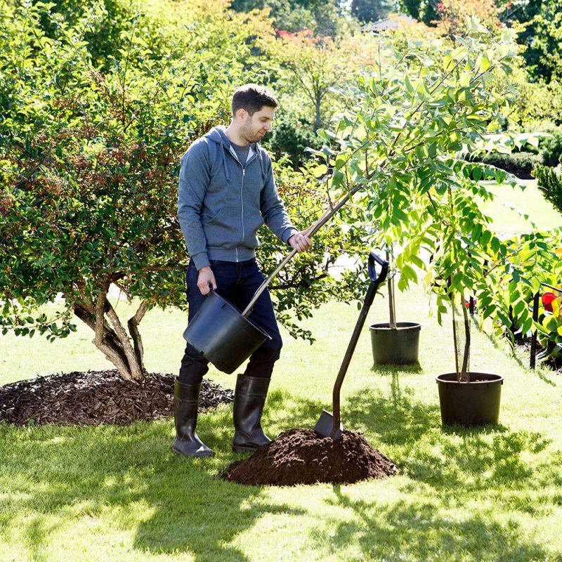 Kekkilä Erikoismulta puiden ja pensaiden istutukseen luo ihanteelliset olosuhteet puiden juurtumiselle