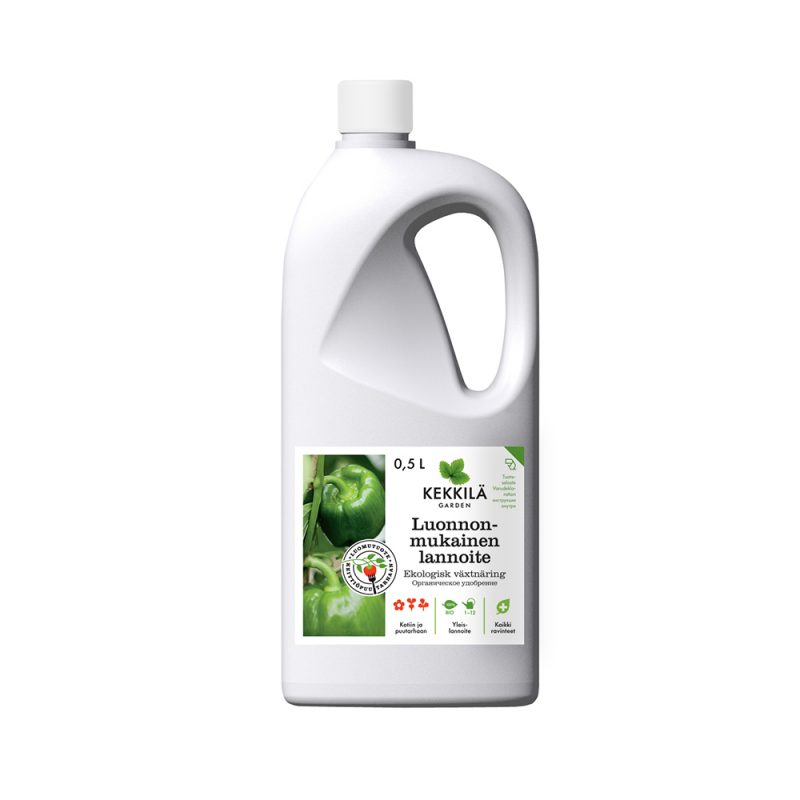 Kekkilä Luonnonmukainen lannoite 0,5 L