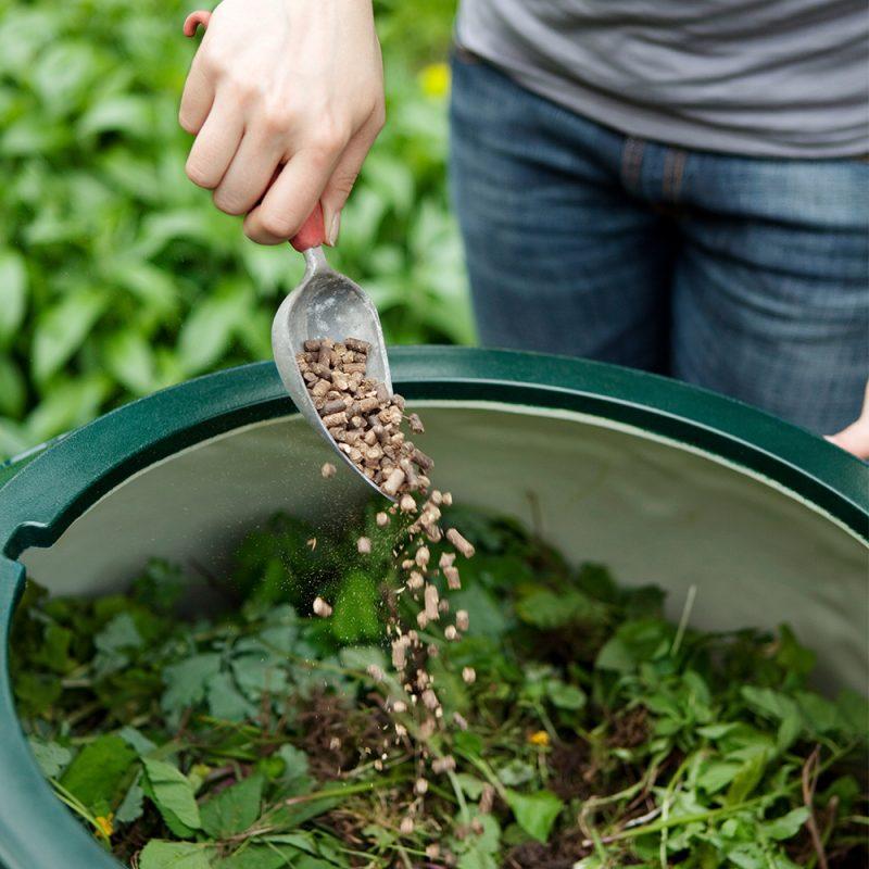 Kekkilä Kompostivirkiste käytössä